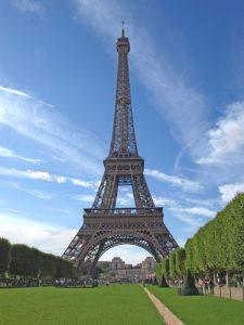 מגדל אייפל בעמוד תרגום מקצועי לצרפתית